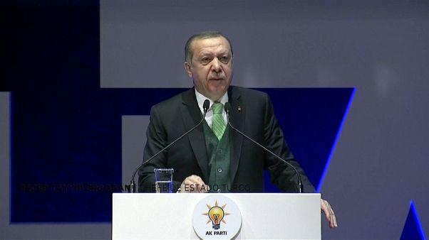 """Erdogan: """"nunca aceitaremos essa decisão"""""""