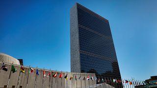 مبنى الأمم المتحدة في الولايات المتحدة الأمريكية