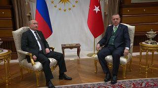 Jerusalem: Erdogan und Putin demonstrieren Einigkeit