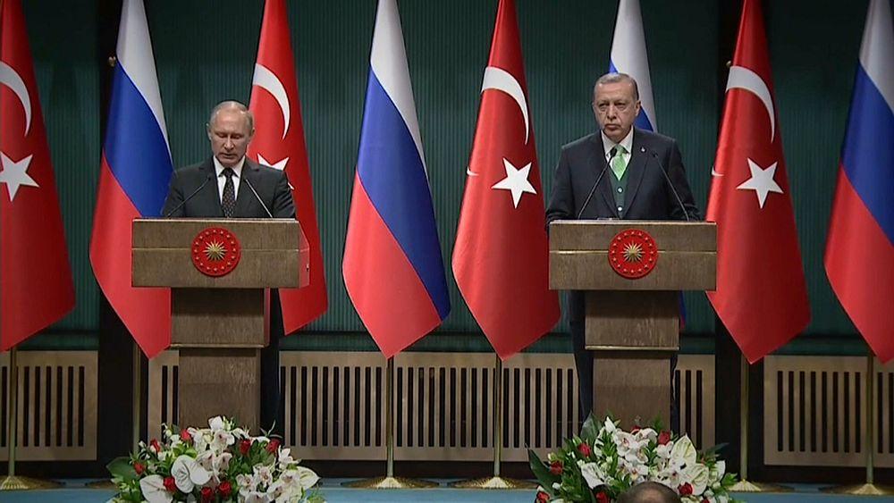 Putin and Erdogan warn US over Jerusalem move