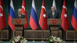 Putin and Erdogan meet for the eighth time this year