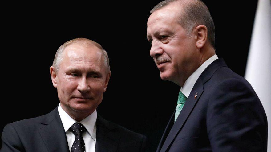 Putin y Erdogan hablan de Jerusalén y de misiles