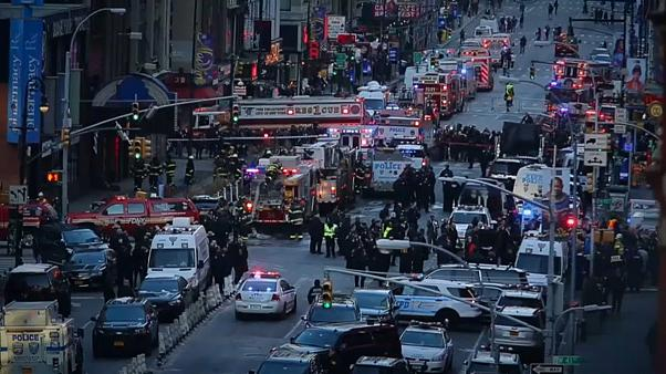 New York's latest terror attack - suspect is caught on camera