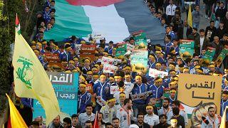 Libanon: Zehntausende demonstrieren gegen Trumps Jerusalem-Entscheidung