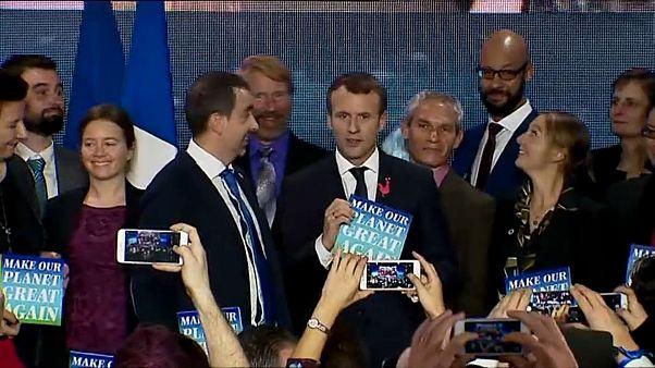 Macron alla vigilia del One Planet Summit: Make Our Planet Great Again