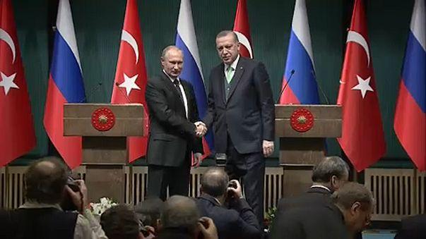 Putyin Ankarában