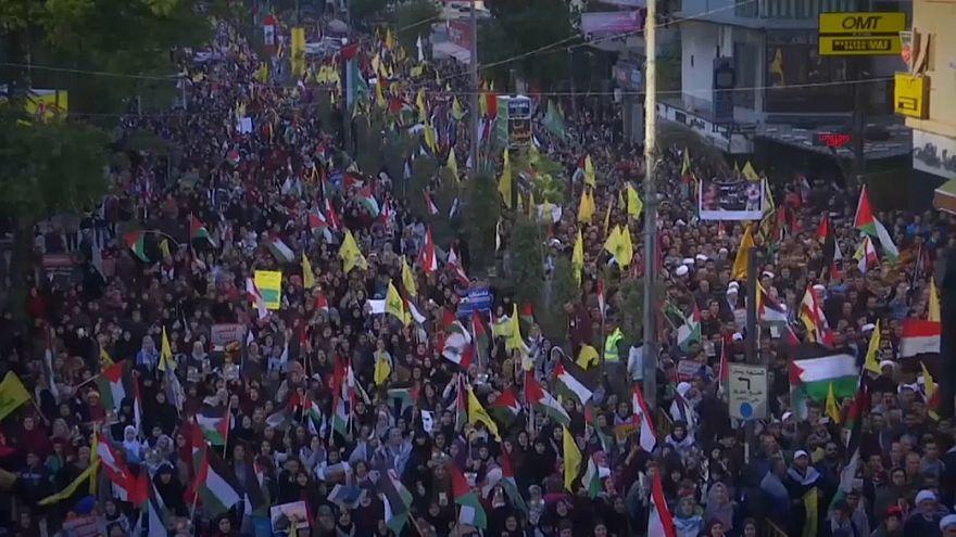 Новые протесты на Ближнем Востоке
