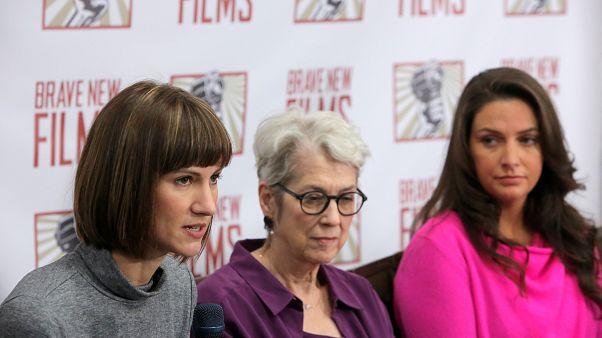 Rachel Crooks, Jessica Leeds et Samantha Holvey accusatrices de Trump.