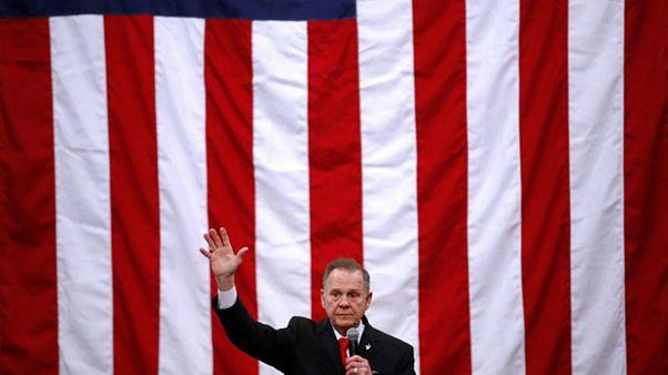 Ο υποψήφιος των Ρεπουμπλικανών Ρόι Μουρ στο Μίντλαντ