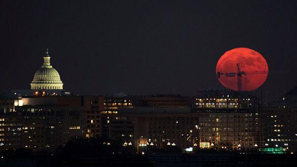 USA wollen zurück zum Mond - und noch weiter