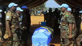 ΟΗΕ: Τελετή μνήμης για τους κυανόκρανους που σκοτώθηκαν στο Κονγκό