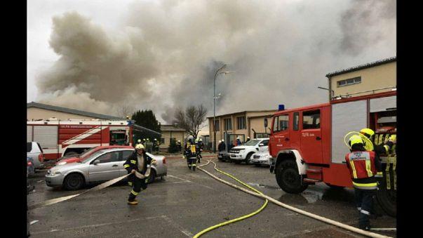Um morto e vários feridos em explosão de gás na Áustria
