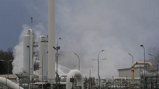Газовый хаб отключен после взрыва