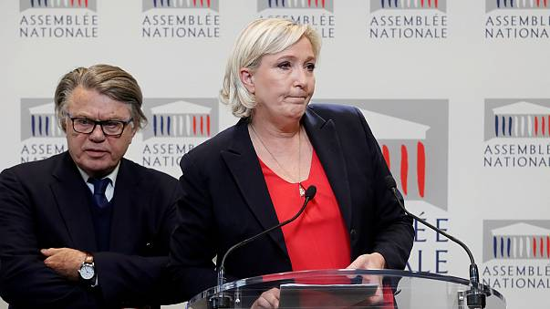 Marine Le Pen et Gilbert Collard Front National