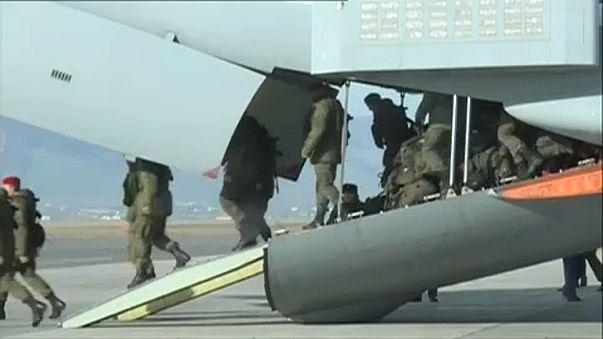 Rússia inicia retirada militar da Síria