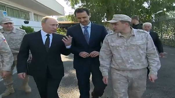 الخارجية الأمريكية تعلق على فيديو محرج للرئيس السوري بصحبة بوتين