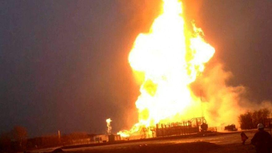 Перебои с поставками газа из-за взрыва на хабе