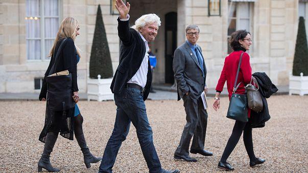 Microsoft co-founder Bill Gates and Virgin Group founder Richard Branson