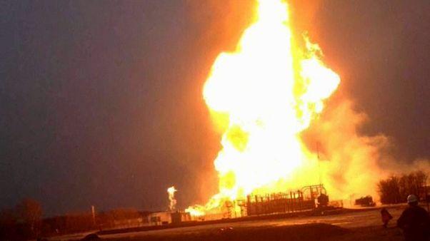 Avusturya'da gaz istasyonunda patlama