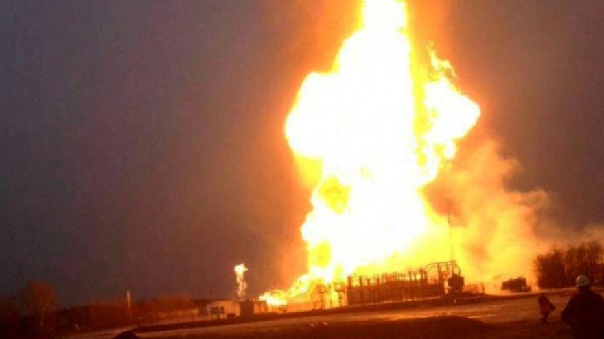 Esplosione in un gasdotto in Austria