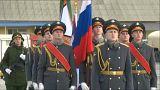 Hazaérkeztek az első Szíriából kivont orosz katonák