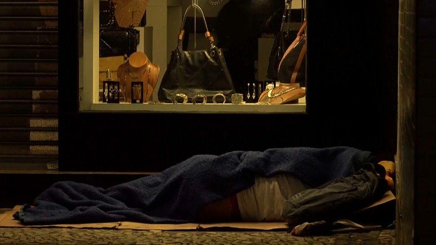Número de sem-abrigo aumenta no Rio de Janeiro