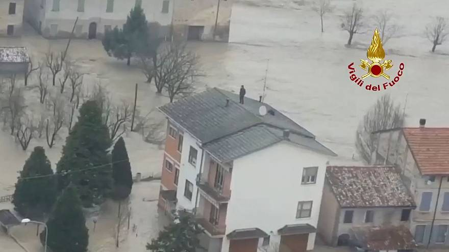 Thousands displaced as severe floods ravage Italy