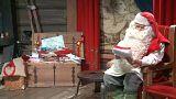 Milhares de pessoas visitam o Pai Natal na Finlândia