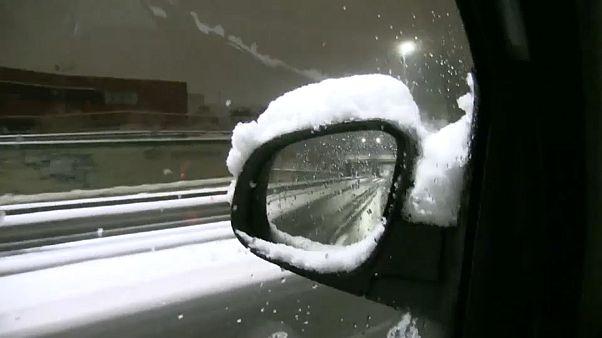 Снегопады добрались до Италии