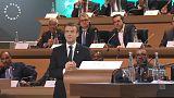 """""""Estamos perdiendo la batalla"""", afirma Macron en la Cumbre del Clima"""