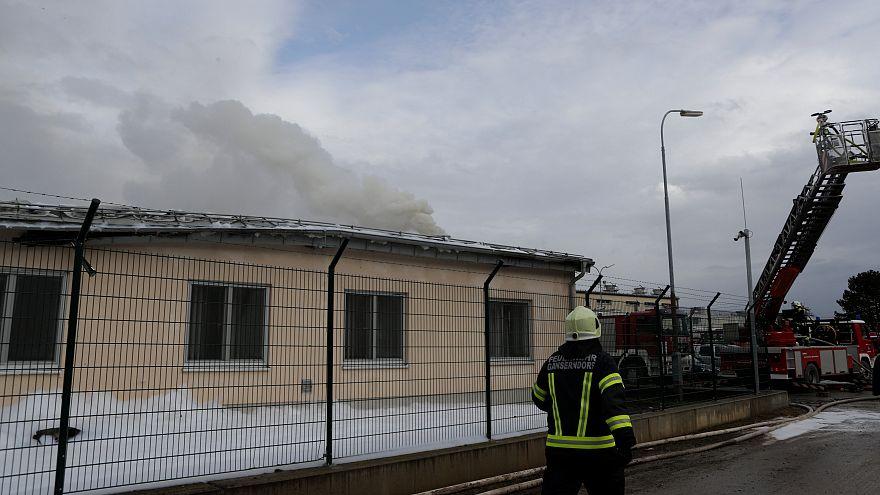 Explosion aftermath austria