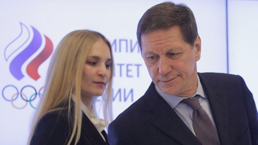 Unterstützung für russische Olympioniken