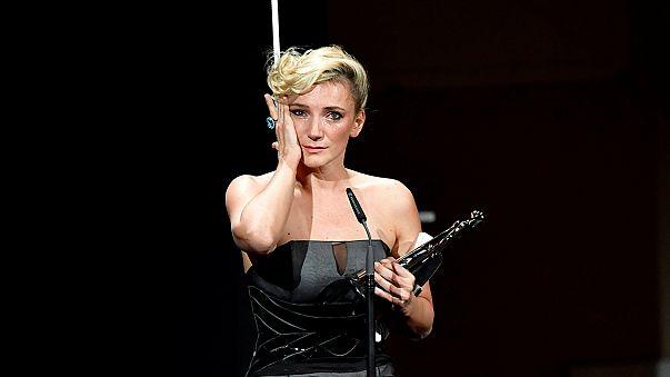 Így vette át a legjobb európai színésznőnek járó díjat Borbély Alexandra