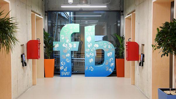 Facebook abbreviation in London headquarter