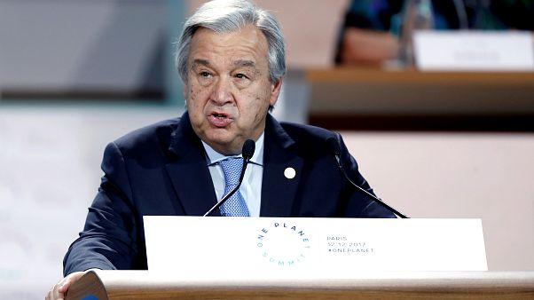 Cimeira One Planet: Guterres pede mais investimento na luta contra aquecimento global