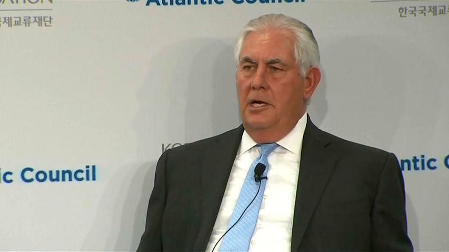 Tillerson'dan Kuzey Kore'ye 'ön koşulsuz' görüşme çağrısı