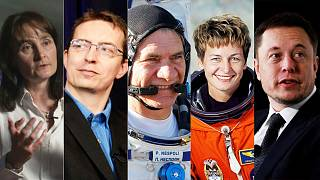 Reader poll: Who should be Euronews' Space Personality of the Year?