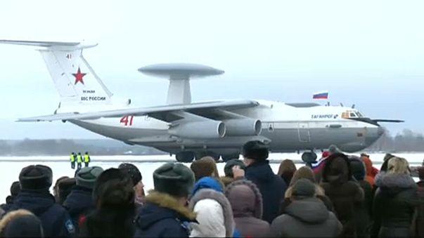 Hazaérkeztek Szíriából az első orosz katonák