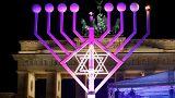 Berlin lance la fête juive d'Hanoukka