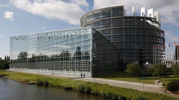 Il parlamento europeo di Strasburgo