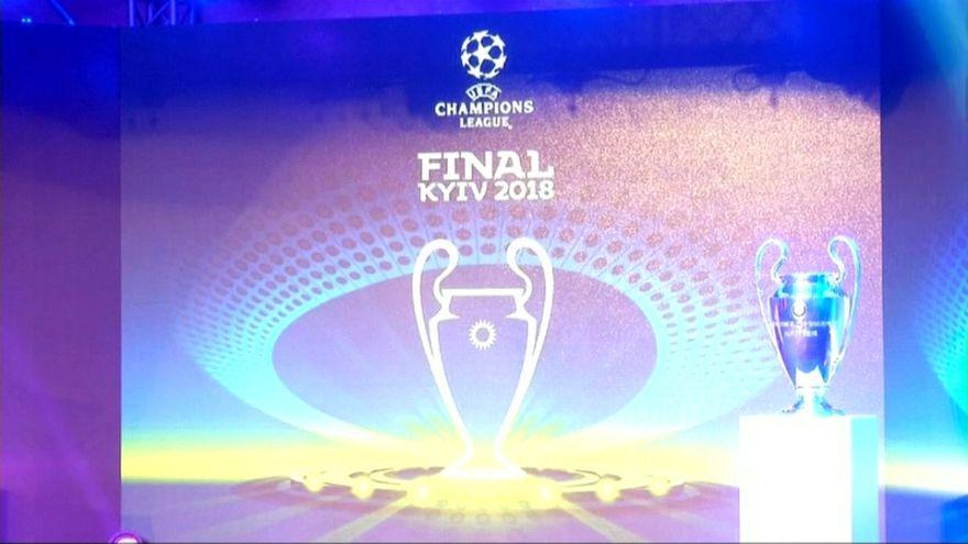 В Киеве представили логотип финала Лиги чемпионов