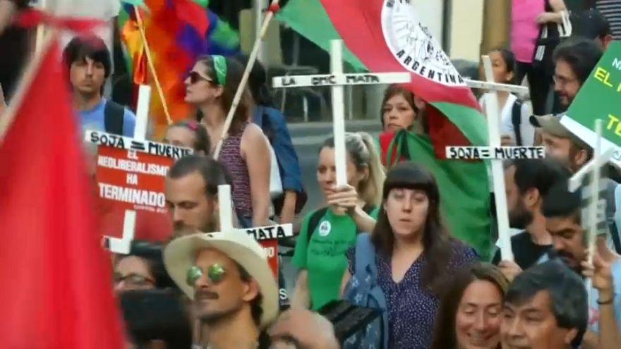 Políticas da OMC contestadas em Buenos Aires