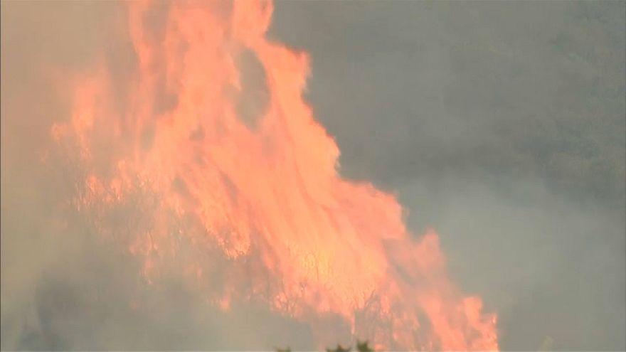 Kaliforniya yangınları kontrol altına alınamadı