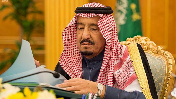 العاهل السعودي الملك سلمان بن عبد العزيز في الرياض
