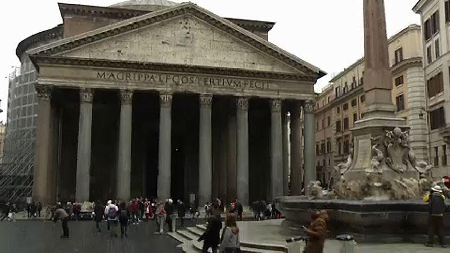 2 euró a Pantheon megtekintéséért