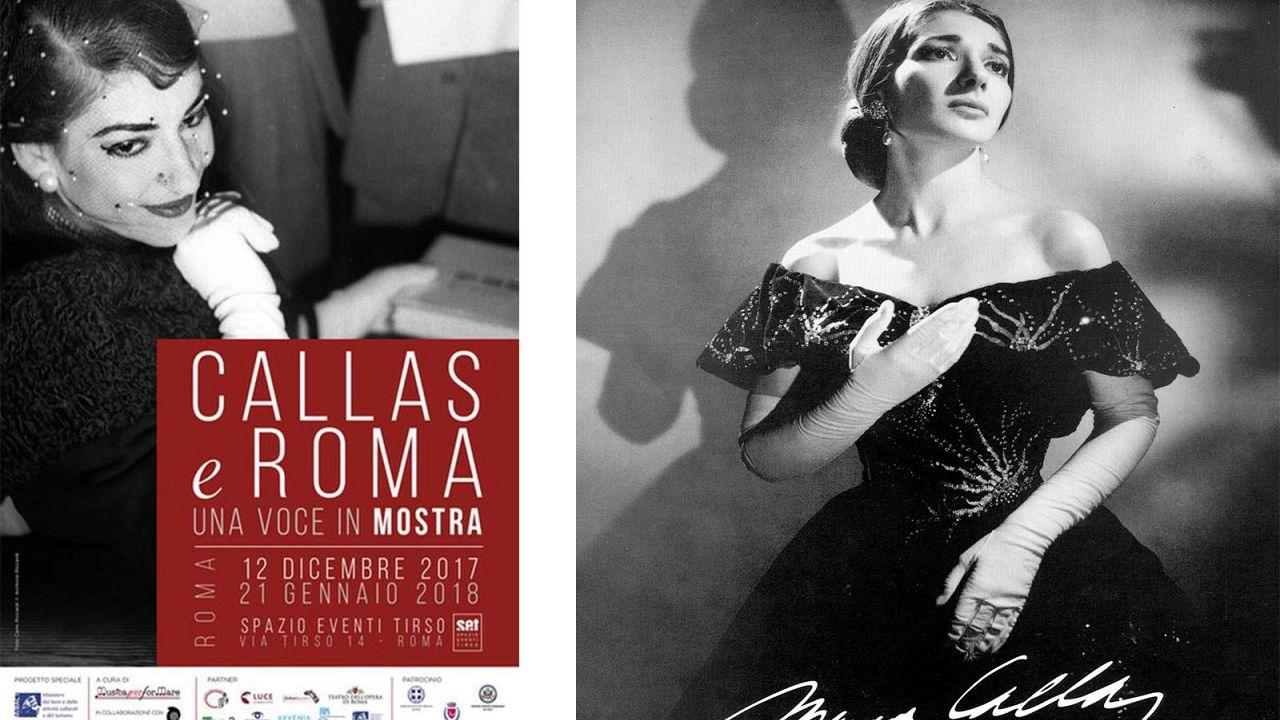 «Η Κάλλας στην Ρώμη - Η Έκθεση μιας Φωνής»