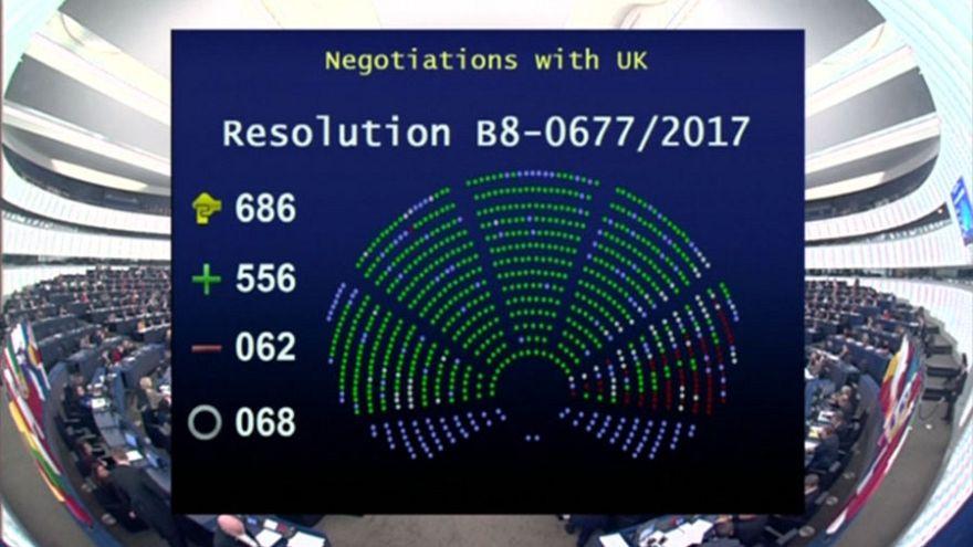 Brexit: el Parlamento Europeo apoya el inicio de la próxima fase de las negociaciones