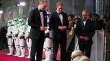 Vilmos és Harry herceg is kíváncsi volt a legújabb Star Wars filmre
