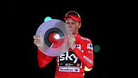 Positivo de Chris Froome en la Vuelta a España 2017