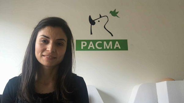 Laura Duarte, portavoz del Partido Animalista Contra el Maltrato Animal